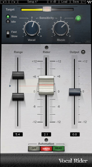 Waves Vocal Rider Plug-in for Academic Institutions - Native image 1