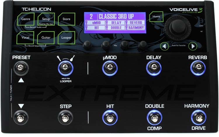 tc helicon voicelive 3 extreme sweetwater. Black Bedroom Furniture Sets. Home Design Ideas