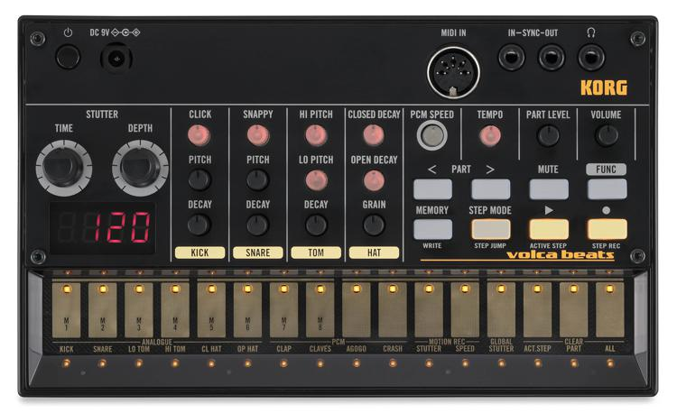 Korg Volca Beats Analog Drum Machine image 1