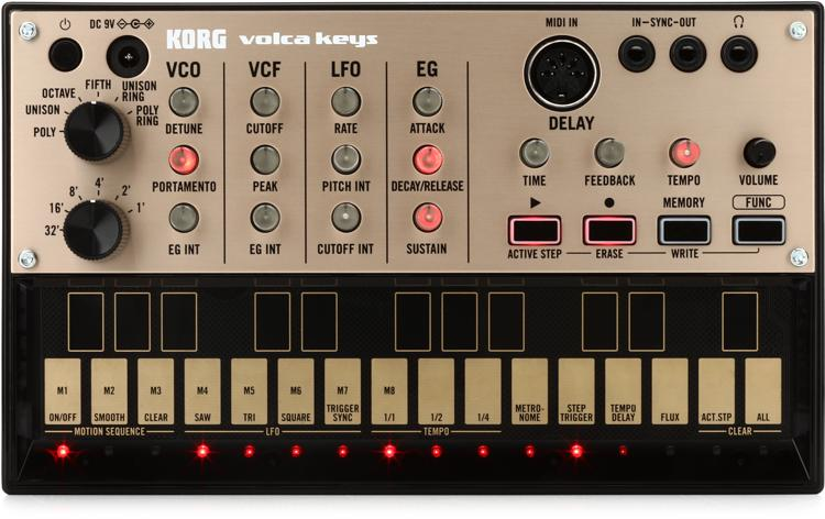 Korg Volca Keys Analog Loop Synthesizer image 1