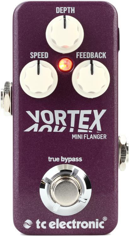 TC Electronic Vortex Mini Flanger Pedal image 1