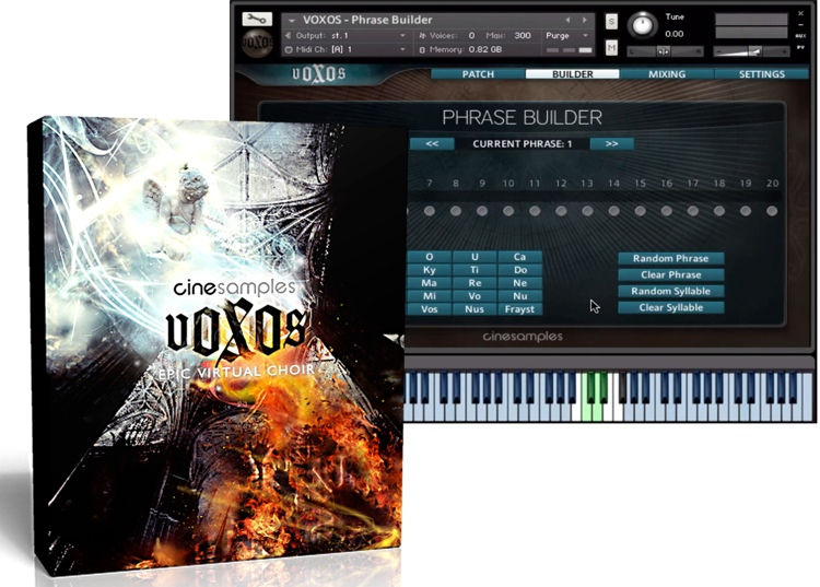 Cinesamples VOXOS: Epic Virtual Choirs image 1