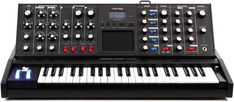 Moog Minimoog Voyager Electric Blue Edition image 1