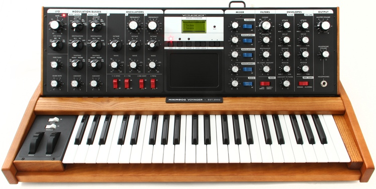 Moog Minimoog Voyager Performer Edition | Sweetwater
