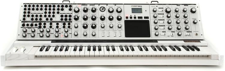 Moog Minimoog Voyager XL - Limited Edition White-on-White image 1