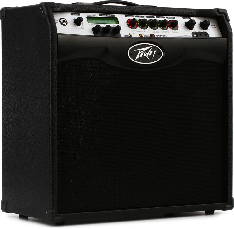peavey vypyr vip 3 100 watt 1x12 modeling guitar bass acoustic combo amp sweetwater. Black Bedroom Furniture Sets. Home Design Ideas