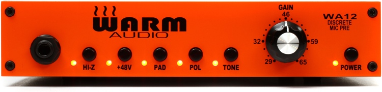 Warm Audio WA12 Mic/Instrument Preamp image 1