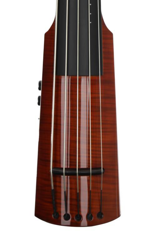 NS Design WAV5 Double Bass - Amberburst image 1