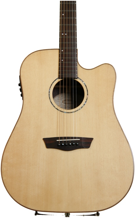 Washburn WD250SWCE Acoustic Electric Dreadnought with Cutaway image 1