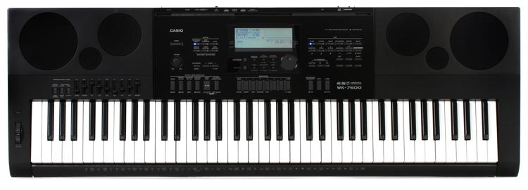 Casio WK-7600 76-key Portable Arranger image 1