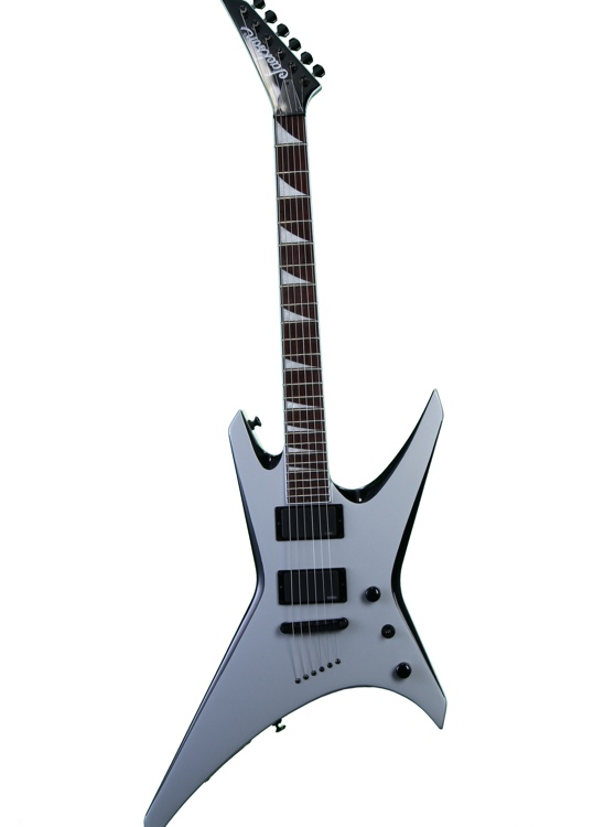 Jackson Warrior WRXTMG - Quick Silver with Black Bevels image 1