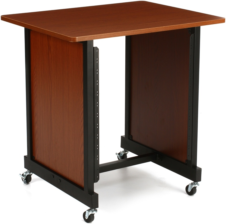 On-Stage Stands WSR7500 Rack Cabinet - Rosewood image 1
