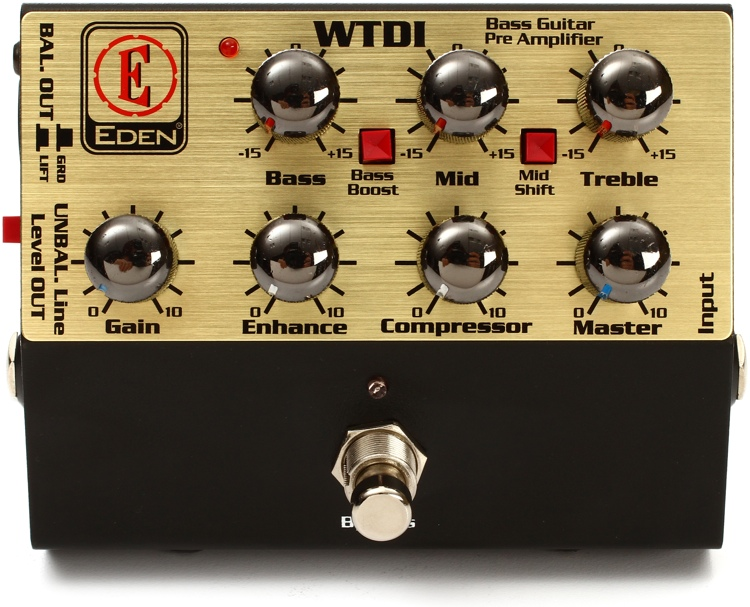 Eden WTDI World Tour Direct Box/Preamp Pedal image 1