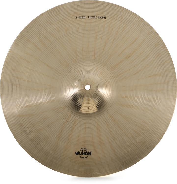 Wuhan Medium Thin Crash Cymbal - 18