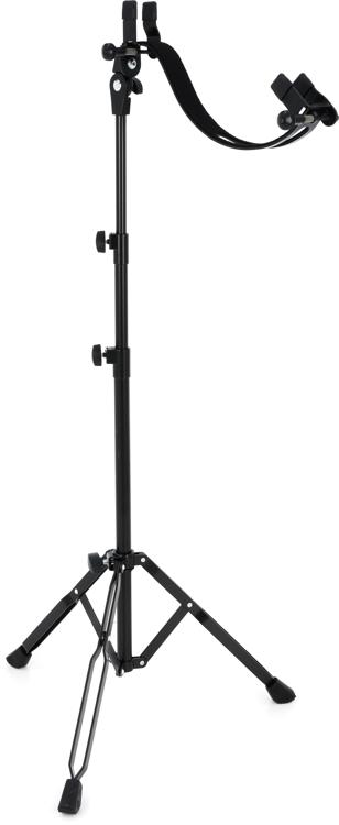 K Amp M Performer Walk Up Guitar Stand Electric Sweetwater
