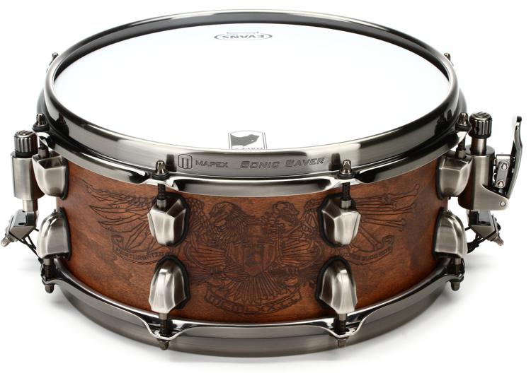 80872c9c94f0 Mapex Black Panther Artist Series Snare Drum - Chris Adler Warbird ...