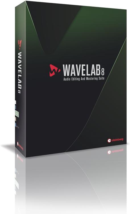 Steinberg WaveLab 8 - Update from WaveLab 7 image 1