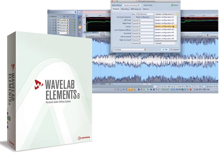 Steinberg WaveLab Elements 8 Educational Edition (boxed) image 1