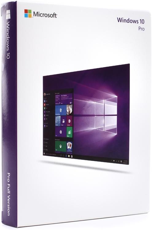 microsoft windows 10 pro 32 64 bit 1 license usb flash drive sweetwater. Black Bedroom Furniture Sets. Home Design Ideas