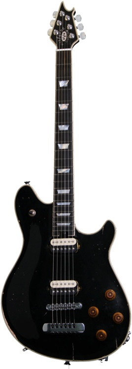 EVH Wolfgang Custom Relic USA - Black image 1