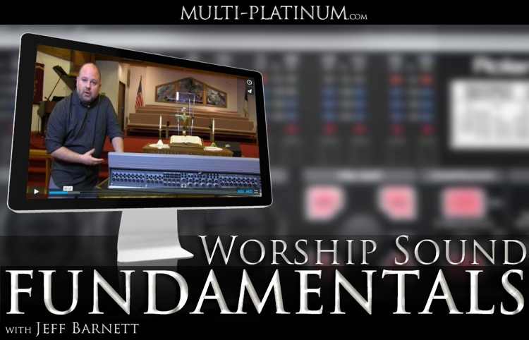 Multi Platinum Worship Sound Fundamentals Interactive Course image 1