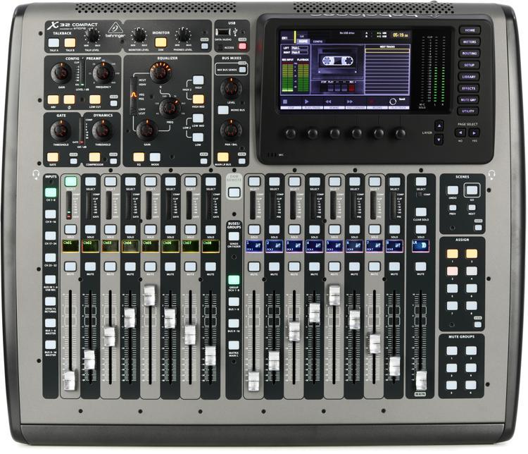 Behringer X32 Compact Digital Mixer image 1