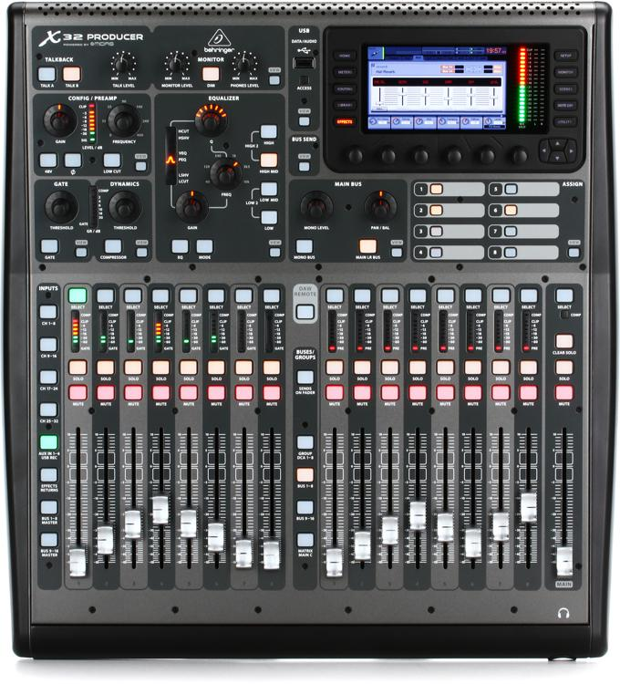 Behringer X32 Producer Digital Mixer Sweetwater