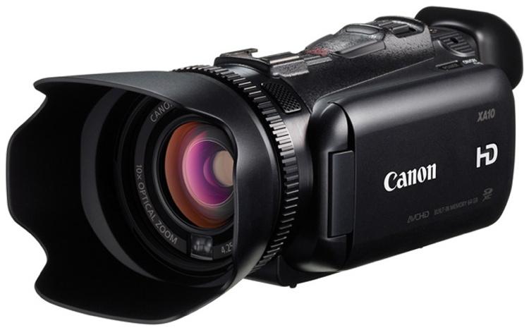 Canon XA10 HD Camcorder image 1