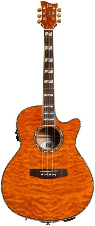 ESP AC-30EQM Acoustic Electric - Honey Natural image 1