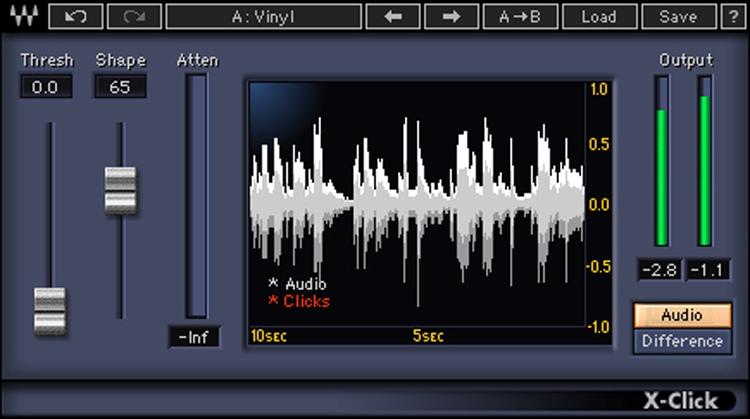 Waves X-Click Plug-in image 1
