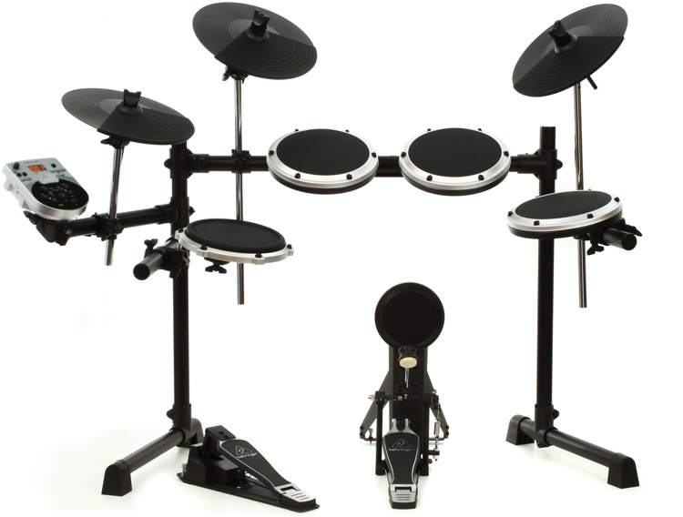 behringer xd8usb 8 piece electronic drum set sweetwater. Black Bedroom Furniture Sets. Home Design Ideas