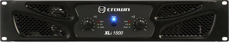 Crown XLi 1500 Power Amplifier image 1