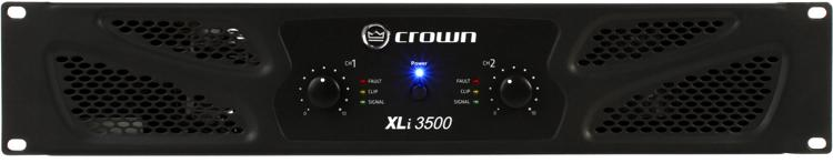 Crown XLi 3500 Power Amplifier image 1
