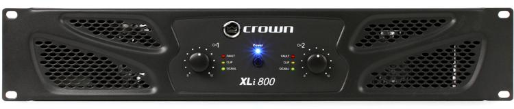 Crown XLi 800 Power Amplifier image 1