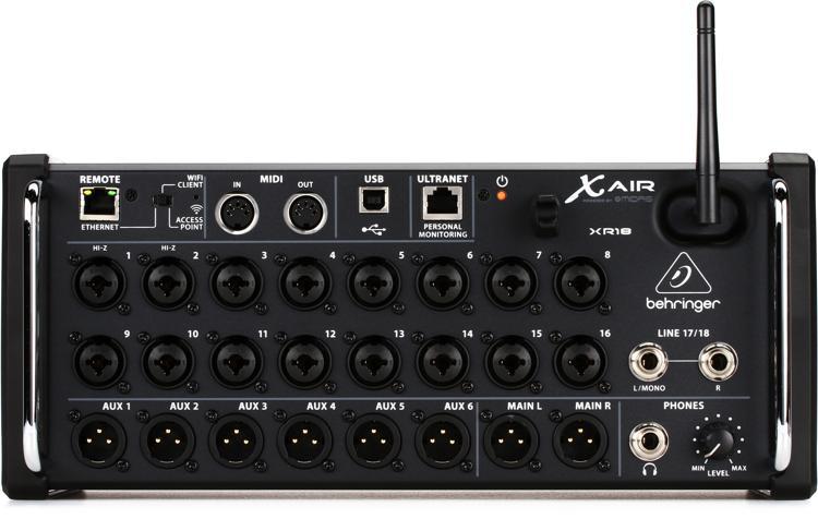 XR18 large?v=ad8af6c7dafbb357 behringer x air xr18 tablet controlled digital mixer sweetwater Behringer XR18 Dimensions at honlapkeszites.co