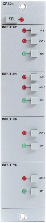 Solid State Logic X-Rack Eight Input Summing Module image 1