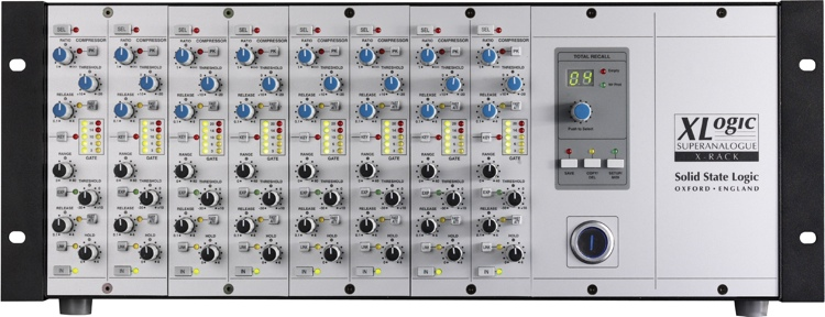 Solid State Logic X-Rack with 8 Dynamics Modules image 1
