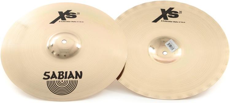 Sabian XS1402XL X-CELERATOR HATS -14