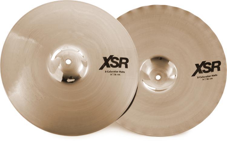 Sabian XSR X-Celerator Hi-hats - 14
