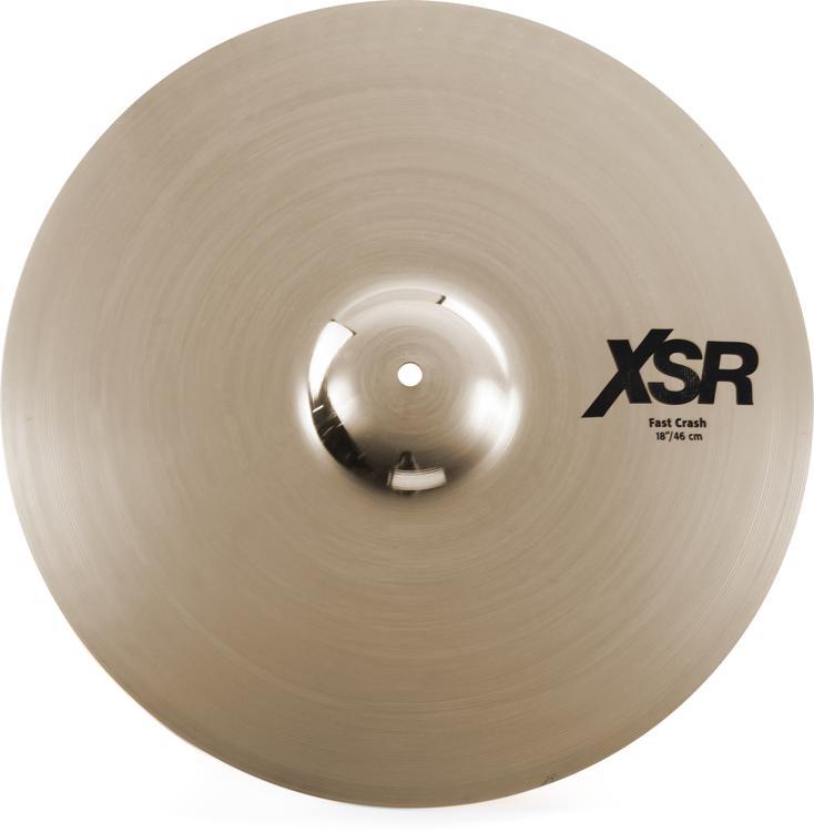 Sabian XSR Fast Crash Cymbal - 18