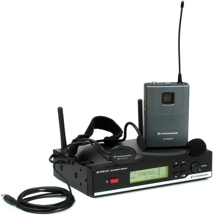 Sennheiser XSW 52 Headmic Set - A Range: 548-572 MHz image 1