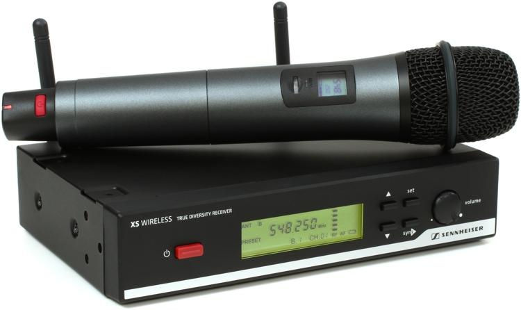 Sennheiser XSW 65 Vocal Set - A Range: 548-572 MHz image 1