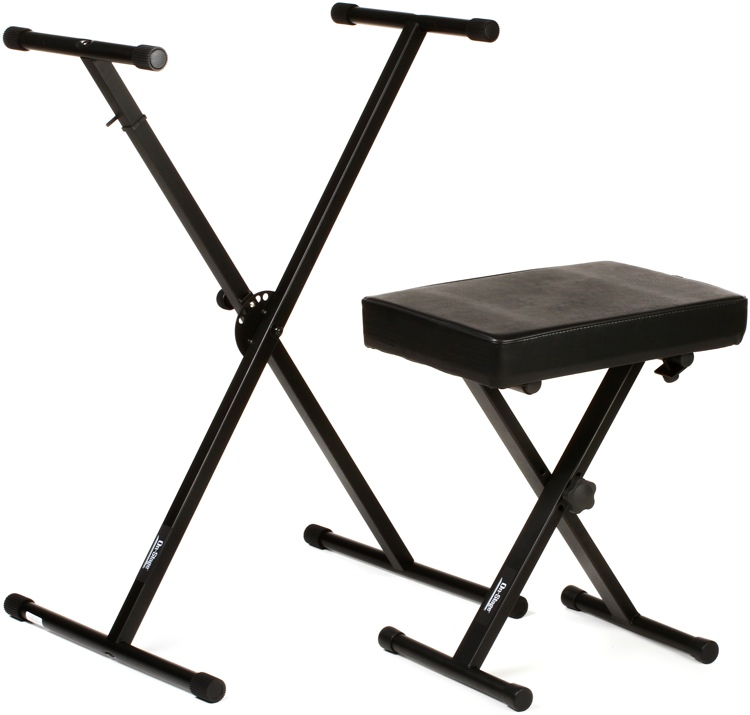 On-Stage Stands KPK6500 Keyboard Stand and Bench Pack image 1
