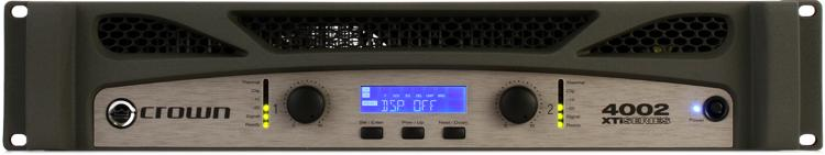 crown xti 4002 power amplifier sweetwater. Black Bedroom Furniture Sets. Home Design Ideas