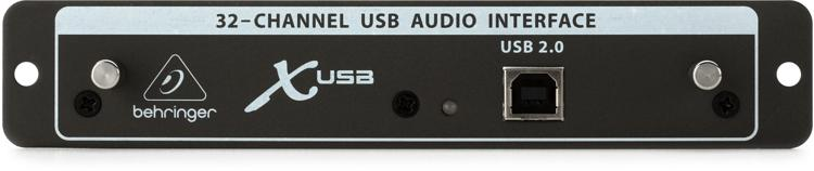Behringer X-USB - USB 2.0 Expansion Card for X32 Digital Mixer image 1