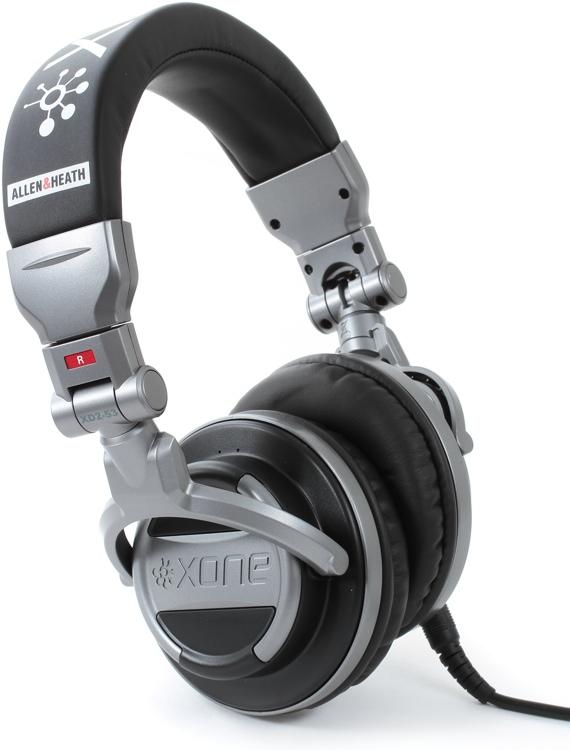 Allen & Heath Xone XD2-53 Pro Monitoring DJ Headphones - Closed image 1