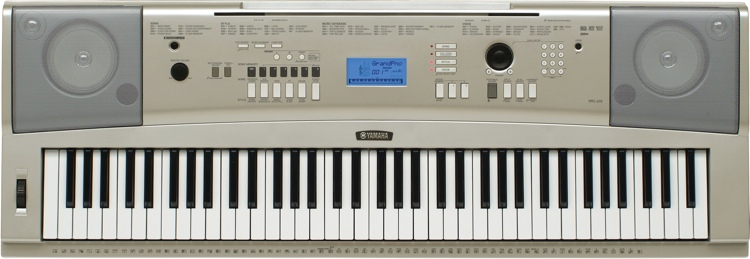 Yamaha YPG-235 76-key Portable Arranger image 1