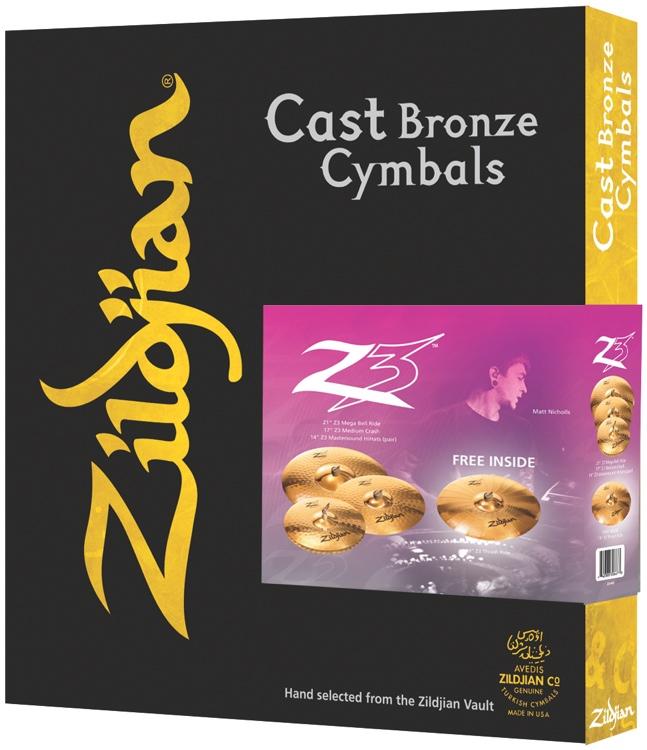Zildjian Z3 Pack Set image 1
