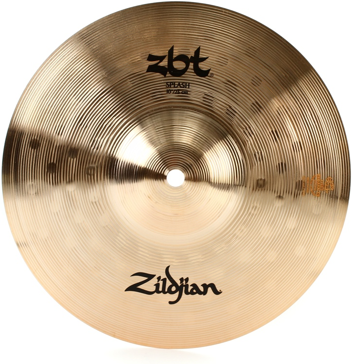 zildjian 10 zbt splash cymbal sweetwater. Black Bedroom Furniture Sets. Home Design Ideas