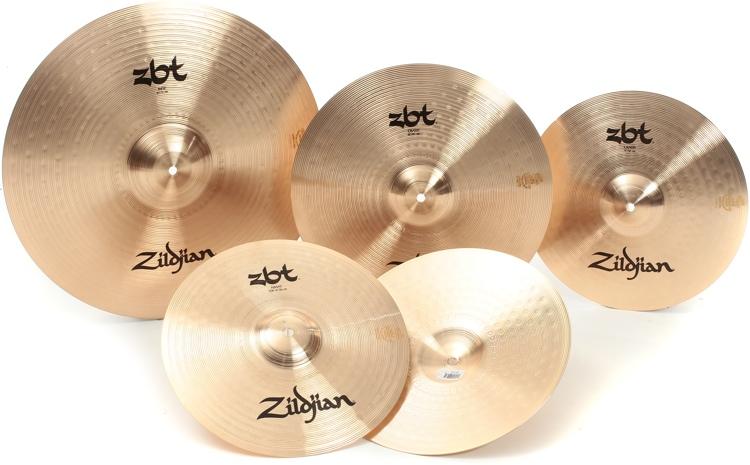 Zildjian ZBT 5 Cymbal Box Set - 14